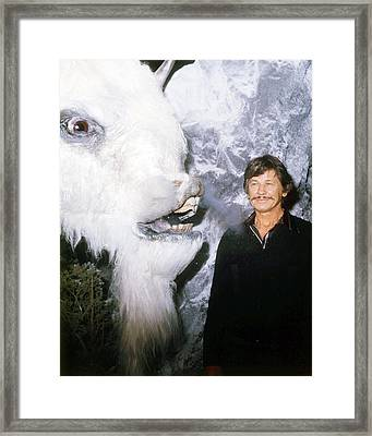 Charles Bronson In The White Buffalo  Framed Print by Silver Screen
