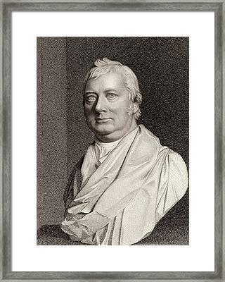 Charles Burney Framed Print