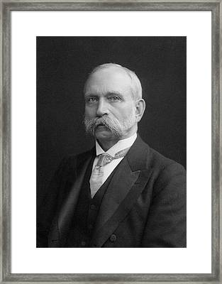 Charles Chandler Framed Print by Chemical Heritage Foundation