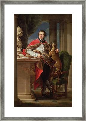 Charles Compton, 7th Earl Framed Print by Pompeo Girolamo Batoni