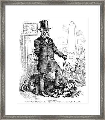 Charles Francis Adams (1807-1886) Framed Print by Granger