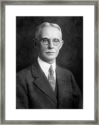 Charles Herty Framed Print by Chemical Heritage Foundation