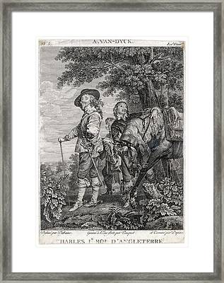 Charles I Of England          Date 1600 Framed Print by Mary Evans Picture Library