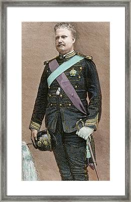 Charles I Of Portugal (1863-1908 Framed Print by Prisma Archivo