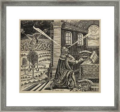 Charles Ist Framed Print by British Library
