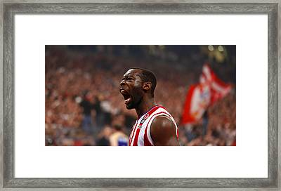 Charles Jenkins Basketball Player Framed Print