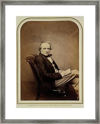 Charles John Kean Framed Print by British Library