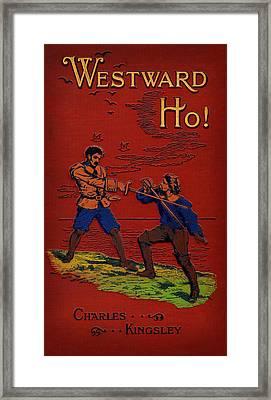 Charles Kingsleys Westward Ho Framed Print by Celestial Images