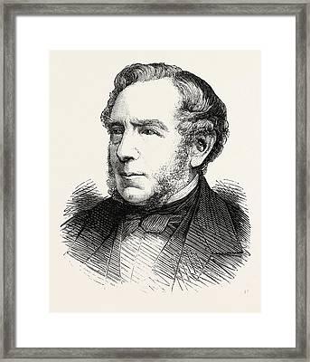Charles Landseer Framed Print by English School