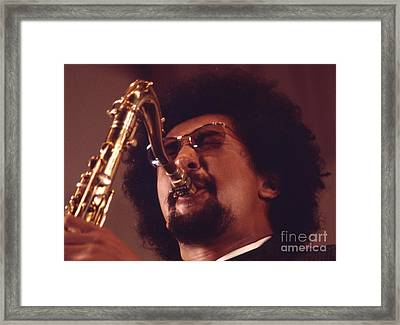 Charles Lloyd In The Soviet Union Framed Print by The Harrington Collection