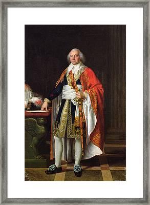 Charles Louis Francois Letourneur 1751-1817 1796 Oil On Canvas Framed Print