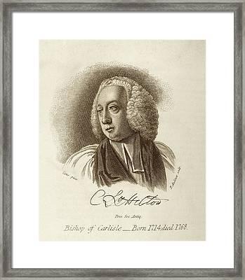 Charles Lyttelton Framed Print
