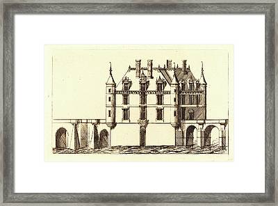 Charles Meryon After Jacques Androuet Ducerceau I, French Framed Print