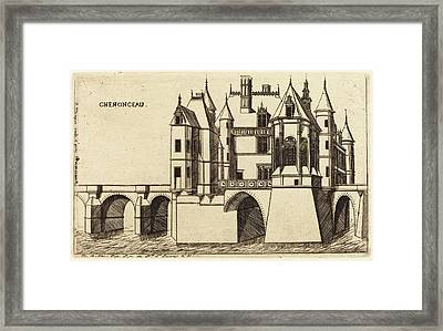 Charles Meryon After Jacques Androuet Ducerceau I French Framed Print