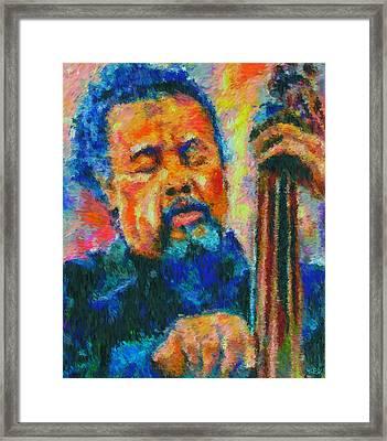 Charles Mingus Jr Framed Print