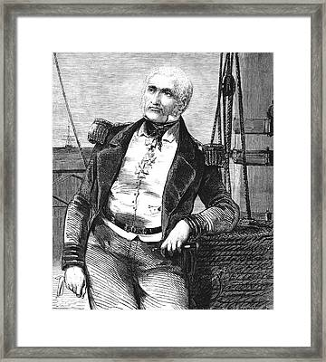 Charles Napier Framed Print by Collection Abecasis
