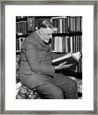 Charles Norris, American Forensic Framed Print by Science Source