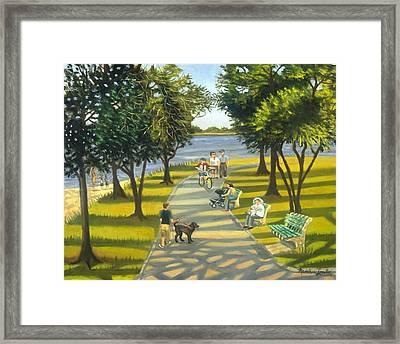 Charles Park Framed Print