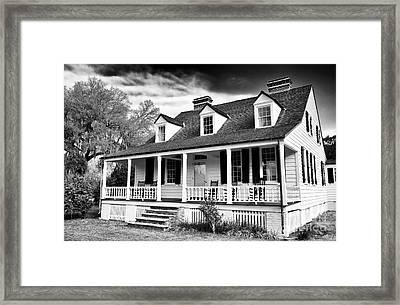 Charles Pickney House Framed Print by John Rizzuto