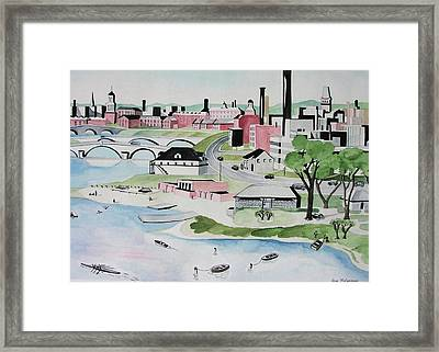 Charles River Framed Print by Sue Melanson