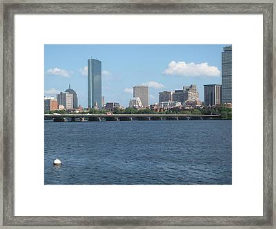 Charles River Summer Framed Print