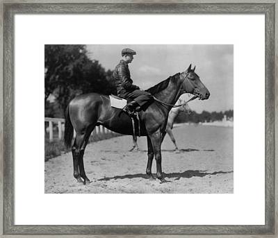Charles S. Howards Favorite Picture Framed Print