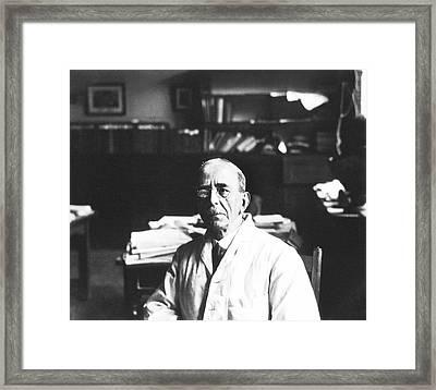 Charles Sherrington Framed Print by National Library Of Medicine