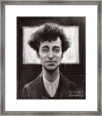 Charles Spencer Chaplin Framed Print by Andre Koekemoer