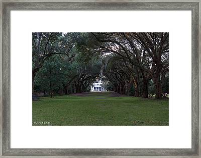 Charles Towne Landing Framed Print by Maurice Smith