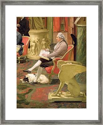 Charles Townley And His Friends Framed Print