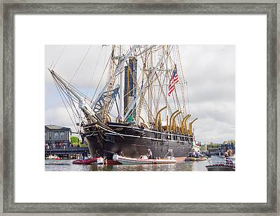 Charles W. Morgan 38th Voyage Framed Print