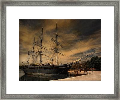 Charles W. Morgan Framed Print