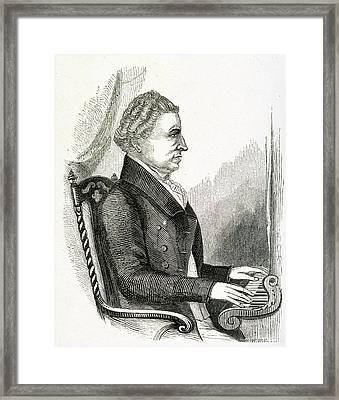Charles Wesley Framed Print