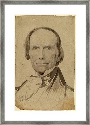 Charles Wesley Jarvis, Henry Clay, American Framed Print