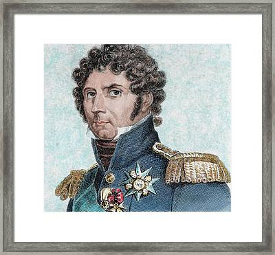 Charles Xiv John Of Sweden (1764-1844 Framed Print