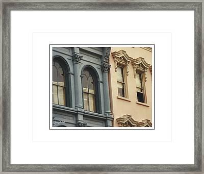 Charleston Architecture 1 Framed Print