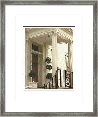 Charleston Architecture 2 Framed Print