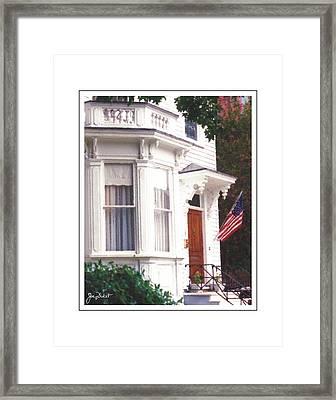 Charleston Architecture 6 Framed Print