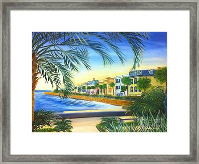 Charleston Battery Framed Print