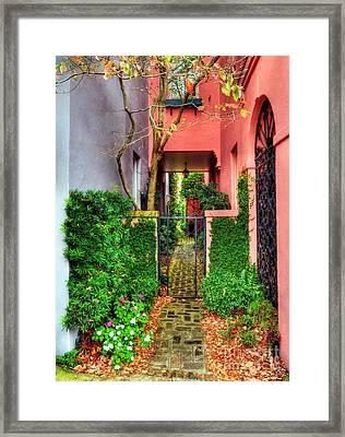 Charleston Charm 2 Framed Print