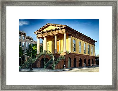 Confederate Museum In Charleston Framed Print by George Oze