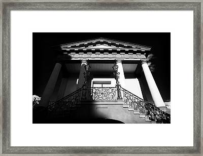 Charleston City Market Framed Print by John Rizzuto