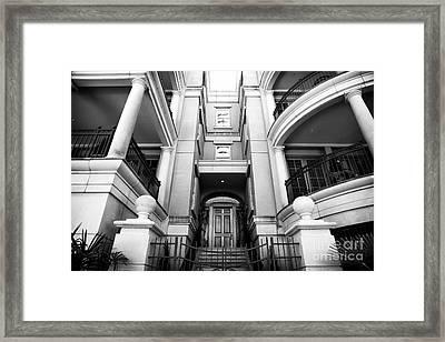 Charleston Design Framed Print by John Rizzuto
