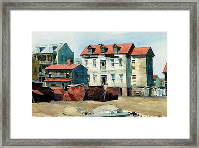 Charleston Framed Print by Edward Hopper