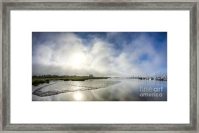 Charleston Fog Framed Print