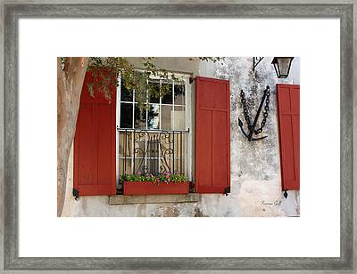 Charleston French Quarter II Framed Print