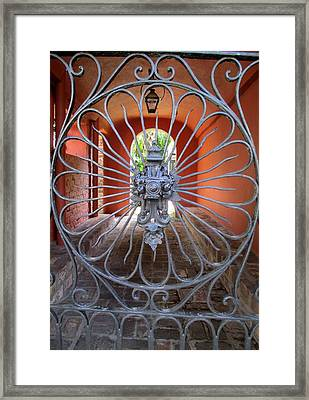 Charleston Gate 1 Framed Print by Randall Weidner