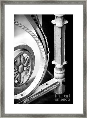 Charleston Iron Works Framed Print by John Rizzuto