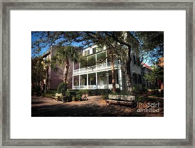 Charleston Framed Print by John Rizzuto