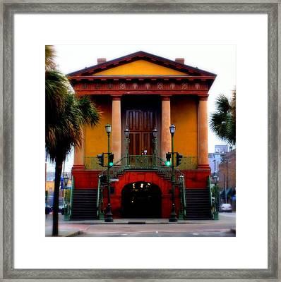 Charleston Framed Print by Karen Wiles